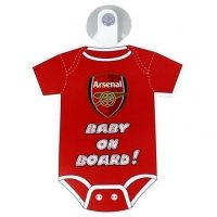 Arsenal F.C. Baby On Board Sign