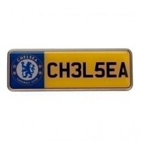 Chelsea F.C. Number Plate Badge