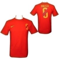 Iniesta Nike Hero T Shirt Mens L