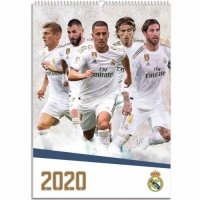 Real Madrid FC Calendar 2020