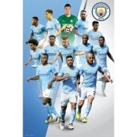Manchester City F.C. Poster Players 17