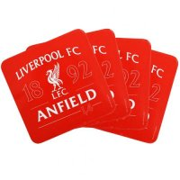 Liverpool F.C. 4pk Coaster Set