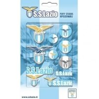 S.S. Lazio Bubble Sticker Set