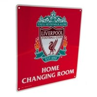 Liverpool FC Home Changing Room Sign CR
