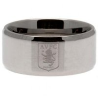 Aston Villa F.C. Band Ring Large