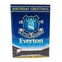 Everton F.C. Musical Birthday Card