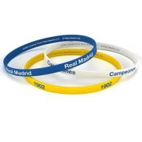 Real Madrid F.C. 3pk Silicone Wristbands