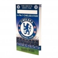 Chelsea F.C. Birthday Card No 1 Fan
