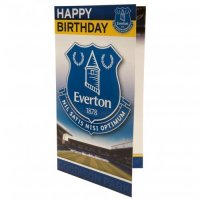 Everton F.C. Birthday Card