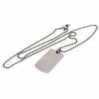 Sunderland A.F.C. Engraved Dog Tag & Chain