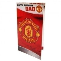 Manchester United F.C. Birthday Card Dad