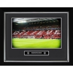 Manchester United F.C. Historic Moments Picture Believe 16x20