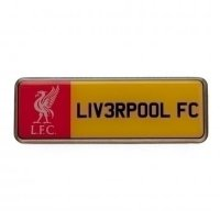 Liverpool F.C. Number Plate Badge