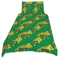 Norwich City F.C. Single Duvet Set