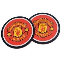 Manchester United F.C. 2pk Coaster Set