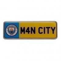 Manchester City F.C. Number Plate Badge