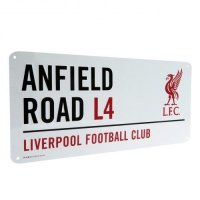 Liverpool FC Street Sign