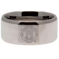 Manchester United F.C. Band Ring Medium