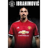 Manchester United F.C. Poster Ibrahimovic 11
