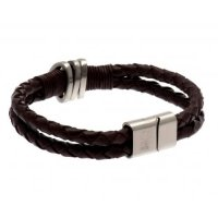 Nottingham Forest F.C. Leather Bracelet