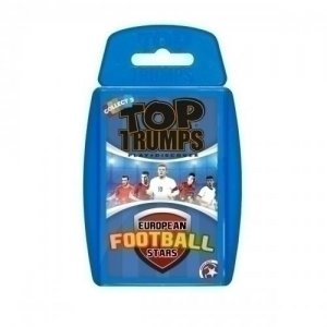 Euro Football Stars Top Trumps