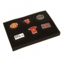 Manchester United F.C. 6 Piece Badge Set