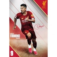 Liverpool FC Poster Firmino 17