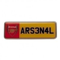 Arsenal F.C. Number Plate Badge