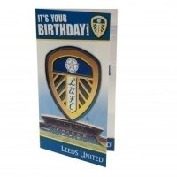 Leeds United F.C. Birthday Card