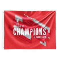 Liverpool F.C. Champions Of Europe Flag