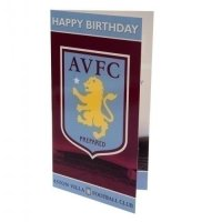 Aston Villa F.C. Birthday Card