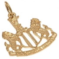 Newcastle United F.C. 9ct Gold Pendant