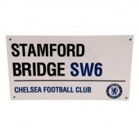 Chelsea F.C. Birthday Card Street Sign