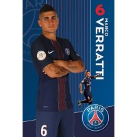 Paris Saint Germain F.C. Poster Verratti 56