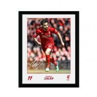 Liverpool F.C. Picture Salah 8 x 6