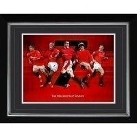Manchester United F.C. Historic Moments Picture Magnificent 7s 1