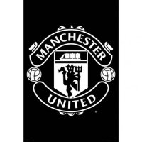 Manchester United F.C. Poster Crest 32