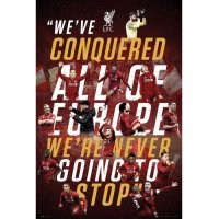 Liverpool F.C. Champions Of Europe Poster 14