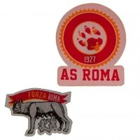 AS Roma Twin Patch Set