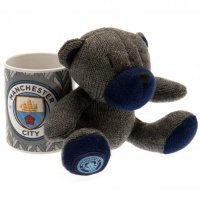Manchester City F.C. Mug & Bear Set
